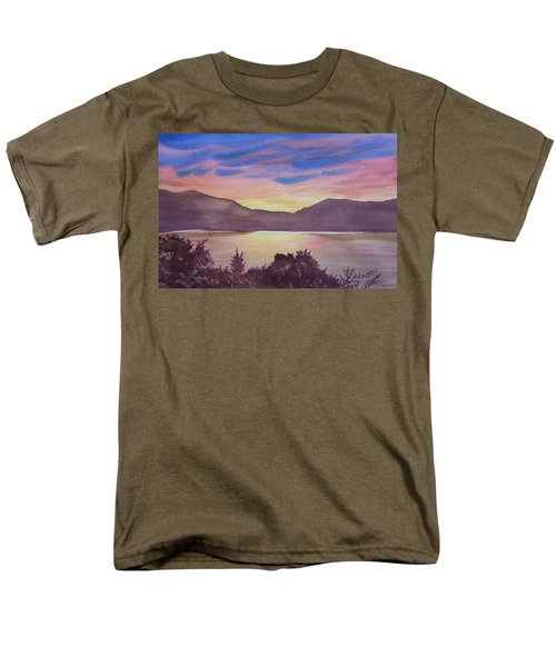 Sunset At Woodhead Campground Men's T-Shirt  (Regular Fit) by Joel Deutsch