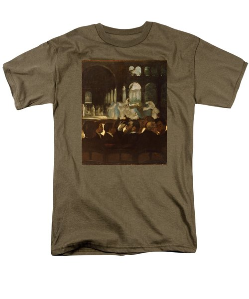 Men's T-Shirt  (Regular Fit) featuring the painting The Ballet From Robert Le Diable by Edgar Degas