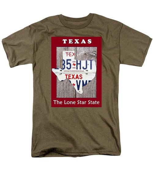 The Lone Star State Men's T-Shirt  (Regular Fit) by Suzanne Theis