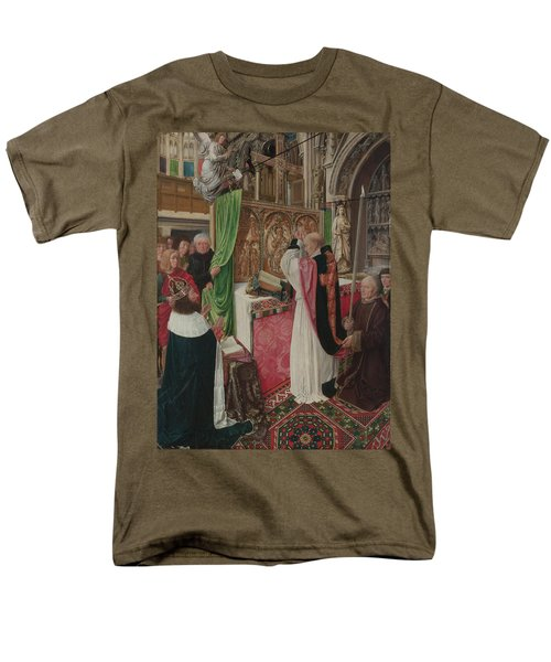 The Mass Of Saint Giles Men's T-Shirt  (Regular Fit) by Master of Saint Giles