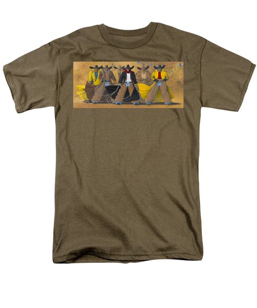 The Posse Men's T-Shirt  (Regular Fit) by Lance Headlee