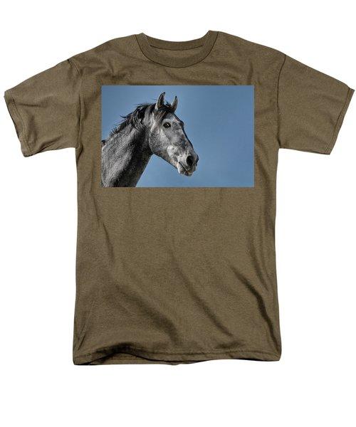 The Stallion Men's T-Shirt  (Regular Fit) by Michael Mogensen