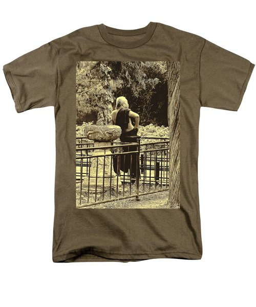 The Thinker Men's T-Shirt  (Regular Fit) by Patrick Kain
