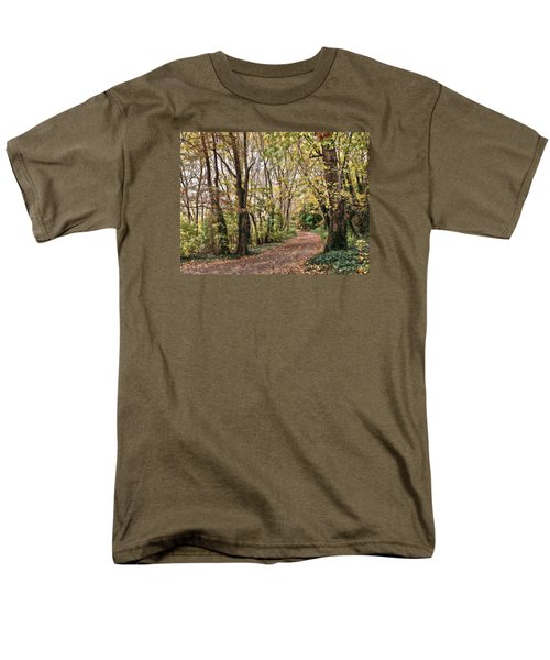 The Woods In Autumn Men's T-Shirt  (Regular Fit) by Mikki Cucuzzo