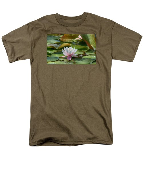 Men's T-Shirt  (Regular Fit) featuring the photograph This Is The Day by Lynn Hopwood