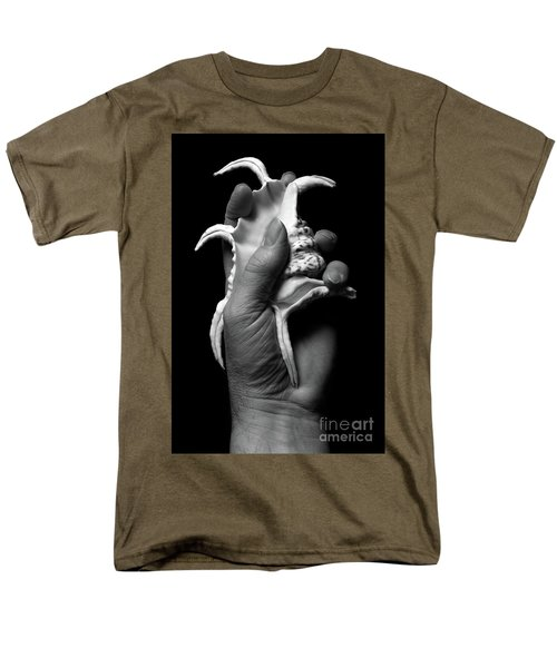 Men's T-Shirt  (Regular Fit) featuring the photograph Touch Series - Shells by Nicholas Burningham