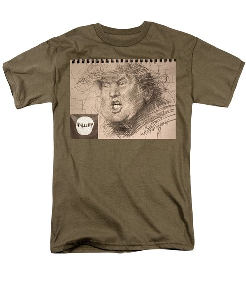 Trump Men's T-Shirt  (Regular Fit) by Ylli Haruni