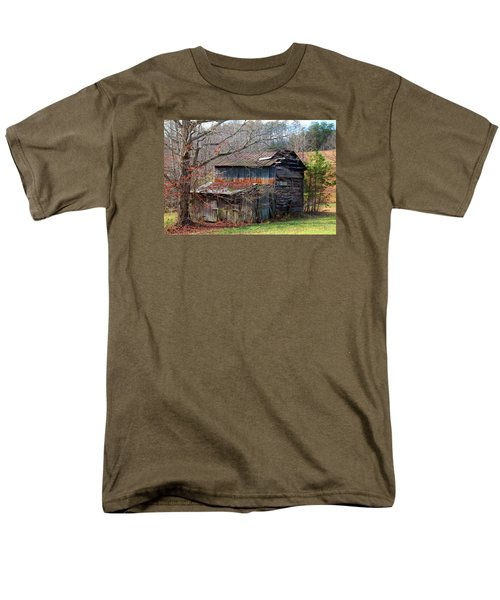 Tumbledown Barn Men's T-Shirt  (Regular Fit) by Kathryn Meyer
