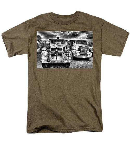 Men's T-Shirt  (Regular Fit) featuring the photograph Two Old Beauties by Jeff Swan