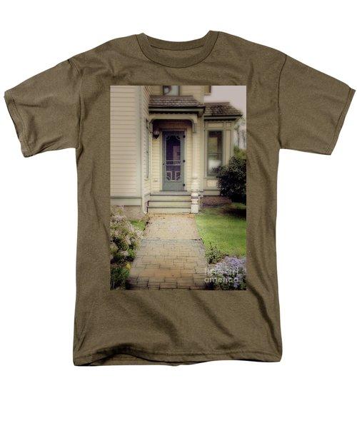 Men's T-Shirt  (Regular Fit) featuring the photograph Victorian Porch by Jill Battaglia