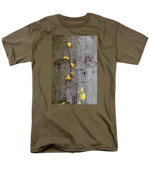 Vine Climber Men's T-Shirt  (Regular Fit) by Deborah  Crew-Johnson