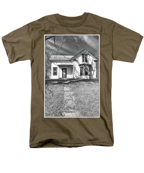 Visiting The Old Homestead Men's T-Shirt  (Regular Fit) by Guy Whiteley