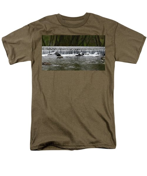 Waterfall 003 Men's T-Shirt  (Regular Fit) by Dorin Adrian Berbier