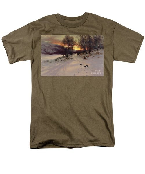 When The West With Evening Glows Men's T-Shirt  (Regular Fit)
