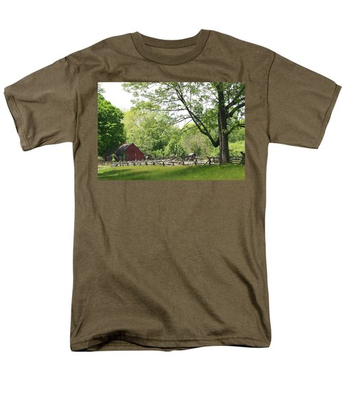 Wick Farm At Jockey Hollow Men's T-Shirt  (Regular Fit) by Living Color Photography Lorraine Lynch