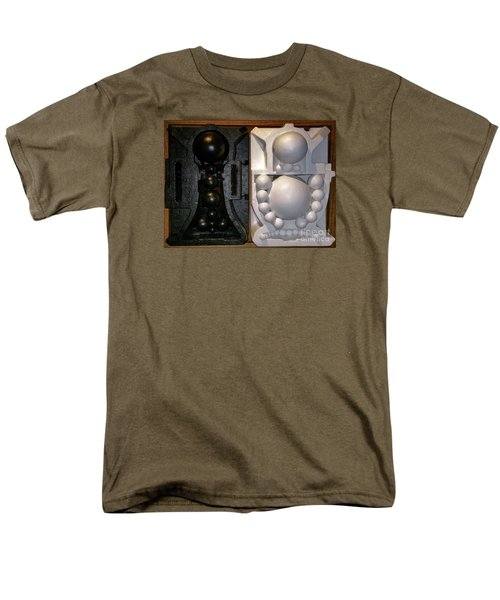 Men's T-Shirt  (Regular Fit) featuring the painting Willendorf Wedding by James Lanigan Thompson MFA