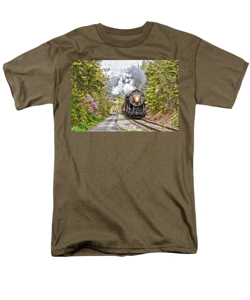 Wmsr Steam Engine 734  Men's T-Shirt  (Regular Fit)