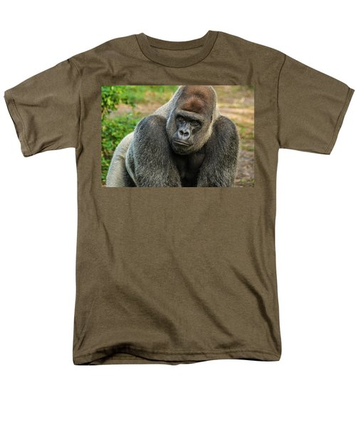 10898 Gorilla Men's T-Shirt  (Regular Fit) by Pamela Williams