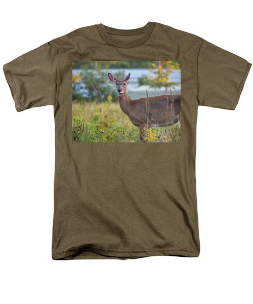 Men's T-Shirt  (Regular Fit) featuring the photograph Down East Maine  by Trace Kittrell