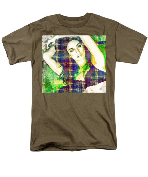 Irina Shayk Men's T-Shirt  (Regular Fit) by Svelby Art