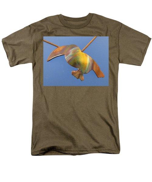 1243 Toucan Men's T-Shirt  (Regular Fit) by Dianne Brooks