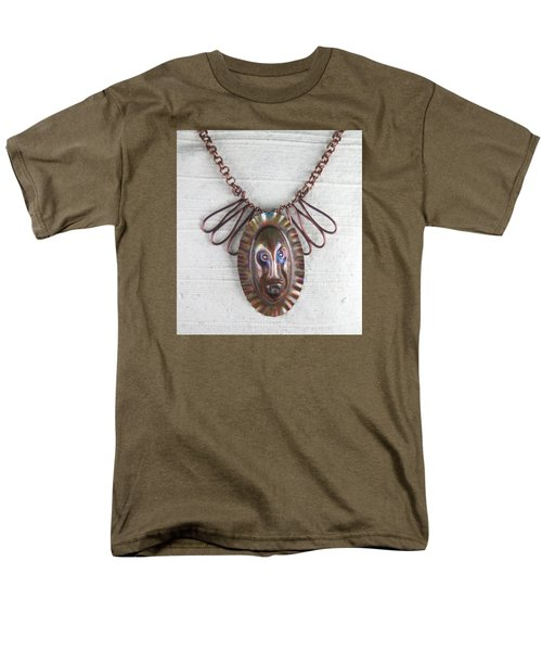 1254 Tribal Mask Men's T-Shirt  (Regular Fit)