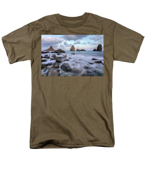 Aci Trezza - Sicily Men's T-Shirt  (Regular Fit) by Joana Kruse
