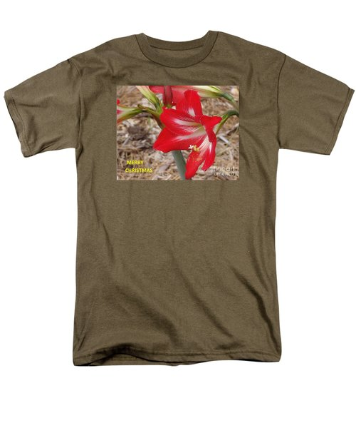 Christmas Card Men's T-Shirt  (Regular Fit) by Rod Ismay