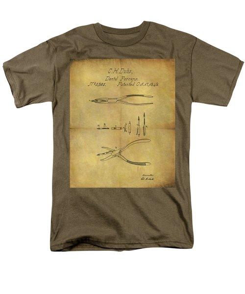1848 Dental Forceps Patent Men's T-Shirt  (Regular Fit) by Dan Sproul