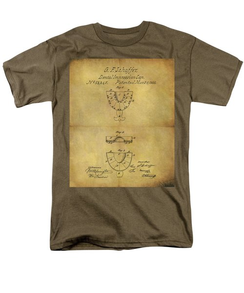 1866 Dental Mold Patent Men's T-Shirt  (Regular Fit) by Dan Sproul