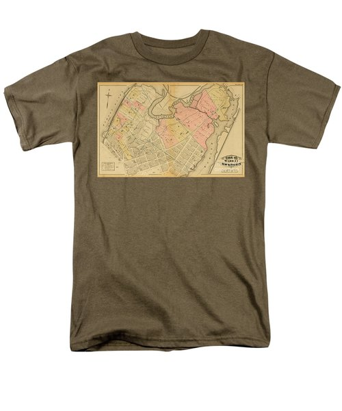 1879 Inwood Map  Men's T-Shirt  (Regular Fit) by Cole Thompson