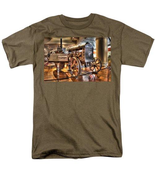 1917 Model 1 Fordson Tractor Dearborn Mi Men's T-Shirt  (Regular Fit) by Nicholas  Grunas