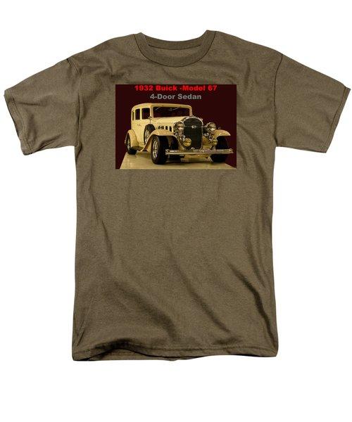 Men's T-Shirt  (Regular Fit) featuring the photograph 1932 Buick 4door Sedan by B Wayne Mullins