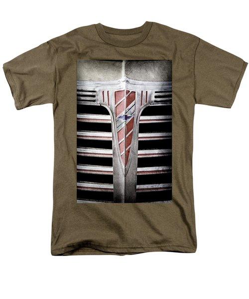 Men's T-Shirt  (Regular Fit) featuring the photograph 1941 Chevrolet Grille Emblem -0288ac by Jill Reger