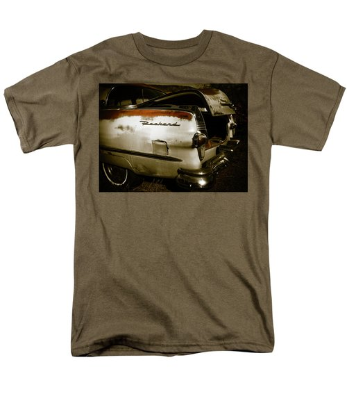Men's T-Shirt  (Regular Fit) featuring the photograph 1950s Packard Trunk by Marilyn Hunt