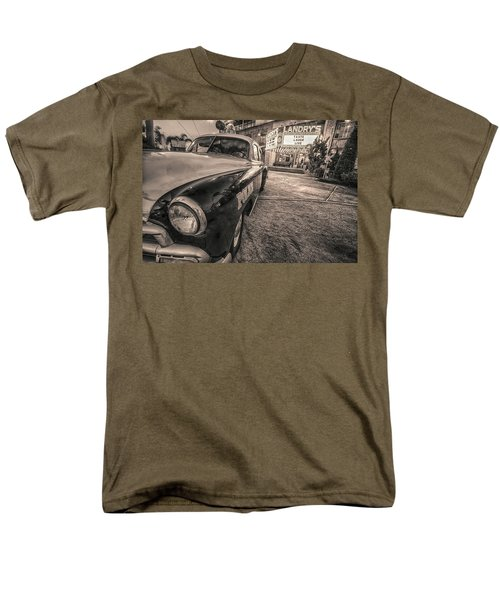 1952 Chevy Black And White Men's T-Shirt  (Regular Fit) by Kathy Adams Clark