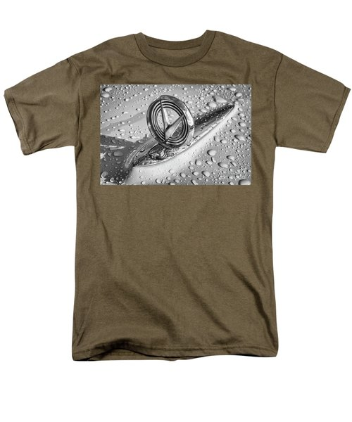 Men's T-Shirt  (Regular Fit) featuring the photograph 1955 Buick Hood Ornament 2 by Dennis Hedberg