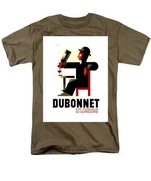 1956 Dubonnet Poster II By Adolphe Mouron Cassandre Men's T-Shirt  (Regular Fit) by Peter Gumaer Ogden Collection