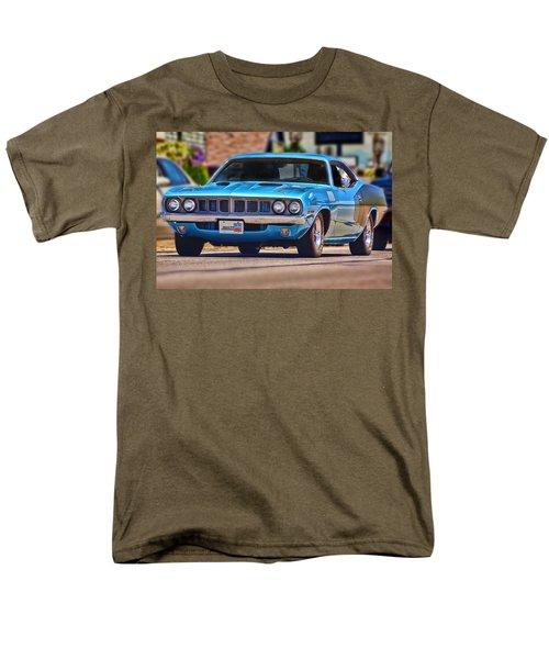 1971 Plymouth 'cuda 383 Men's T-Shirt  (Regular Fit) by Gordon Dean II