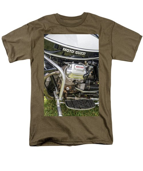 1976 Moto Guzzi V1000 Convert Men's T-Shirt  (Regular Fit) by Roger Mullenhour