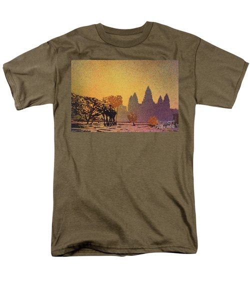 Angkor Sunrise Men's T-Shirt  (Regular Fit) by Ryan Fox