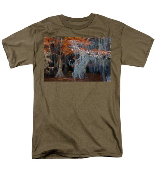 Autumn Moss Men's T-Shirt  (Regular Fit) by Lana Trussell
