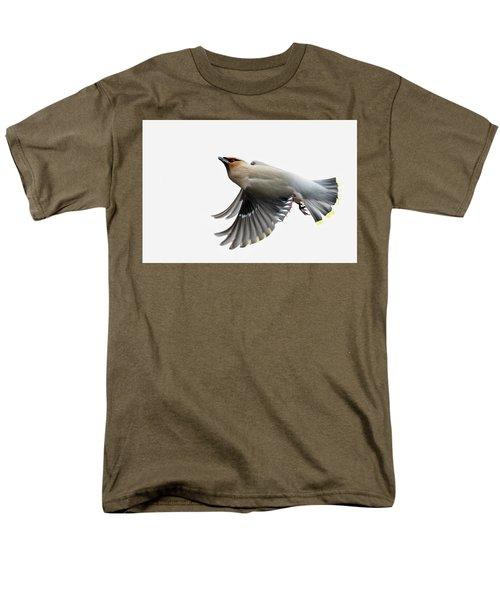 Men's T-Shirt  (Regular Fit) featuring the photograph Bohemian Waxwing  by Mircea Costina Photography