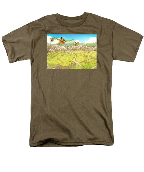 Chiricahua Mountains Men's T-Shirt  (Regular Fit) by Reynold Jay