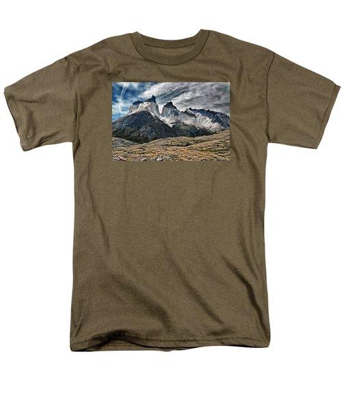Cuernos Del Paine Men's T-Shirt  (Regular Fit) by Alan Toepfer