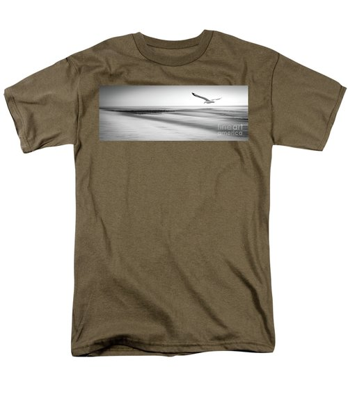 Men's T-Shirt  (Regular Fit) featuring the photograph Desire Light Bw by Hannes Cmarits