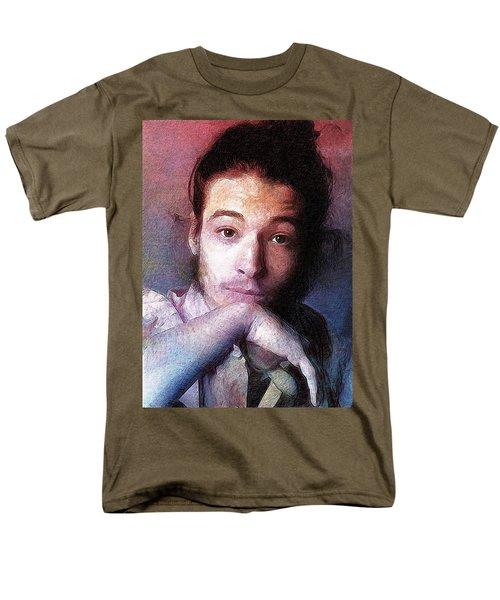 Ezra Miller Men's T-Shirt  (Regular Fit) by Best Actors