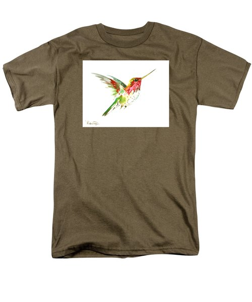 Flying Hummingbird Men's T-Shirt  (Regular Fit) by Suren Nersisyan