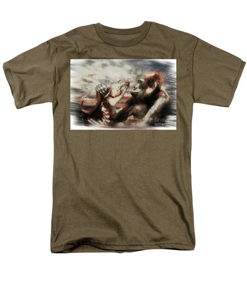 Men's T-Shirt  (Regular Fit) featuring the photograph Gorilla  by Christine Sponchia