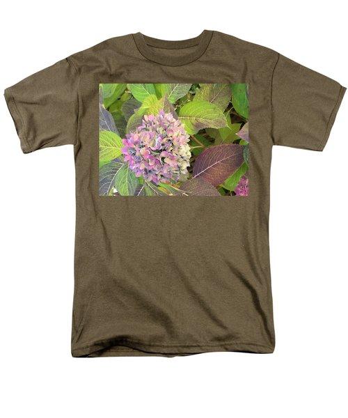 Hydrangea Men's T-Shirt  (Regular Fit) by Kay Gilley